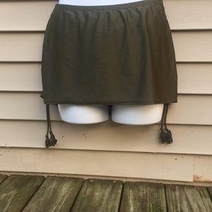 Lane Bryant Cacique Swim skirt